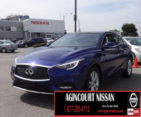 Used 2017 Infiniti QX30 2.0T|NAVI|LEATHER|PANO ROOF|PADDLE SHIFTER| for sale in Scarborough, ON