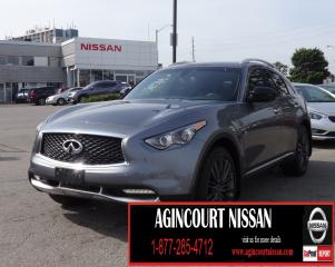 Used 2017 Infiniti QX70 LIMITED PCKG|AWD|NAVI|360 CAMERA|LANE DEPARTURE WARNING| for sale in Scarborough, ON