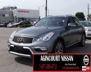 Used 2017 Infiniti QX50 TECH PCKG|AWD|NAVI|BLIND SPOT|LEATHER|360 CAMERA| for sale in Scarborough, ON