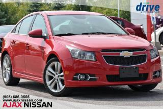 Used 2012 Chevrolet Cruze LT Turbo for sale in Ajax, ON