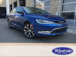 Used 2015 Chrysler 200 3.6L V6, AWD, NAVIGATION, BACK UP CAMERA, REMOTE START, FULL LEATHER INTERIOR. for sale in Calgary, AB