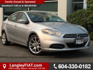 Used 2013 Dodge Dart SXT/Rallye B.C OWNED! for sale in Surrey, BC