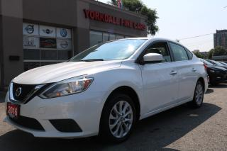 Used 2016 Nissan Sentra 1.8 S Navigation. Camera. Sunroof. Bluetooth for sale in North York, ON