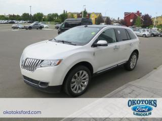 Used 2014 Lincoln MKX Base Clean Carproof, 3.7L V6 Duratec engine, sight & sound package for sale in Okotoks, AB