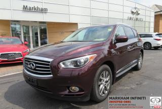 Used 2013 Infiniti JX35 PREMIUM|NAVIGATION|SUNROOF|360 CAMERA|BOSE AUDIO for sale in Unionville, ON
