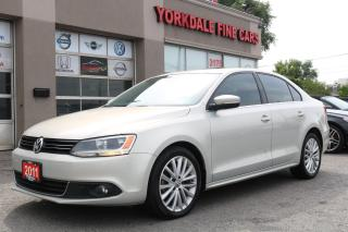 Used 2011 Volkswagen Jetta 2.0 TDI Highline Navigation. Leather. Roof. No Accidents for sale in North York, ON
