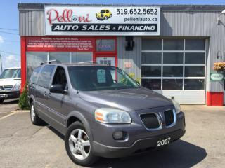 Used 2007 Pontiac Montana EXTENDED w/ DVD + REMOTE START for sale in London, ON
