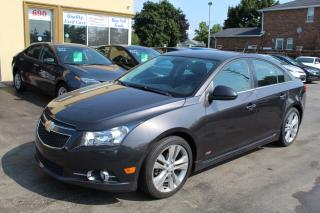 Used 2014 Chevrolet Cruze 2LT LEATHER SUNROOF for sale in Brampton, ON