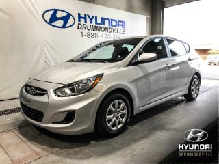 Used 2013 Hyundai Accent GL 5 PORTES + BAS KM + A/C + WOW ! for sale in Drummondville, QC