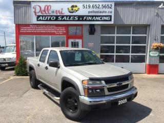 Used 2005 Chevrolet Colorado LS Z71 4X4 CREW CAB for sale in London, ON