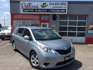 Used 2011 Toyota Sienna LE 8 PASSENGER DUAL POWER SLIDING DOORS for sale in London, ON