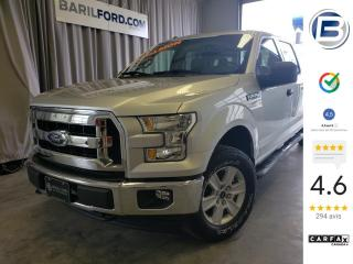 Used 2016 Ford F-150 Cab SuperCrew 4RM 157 po XLT pay load ed for sale in St-Hyacinthe, QC