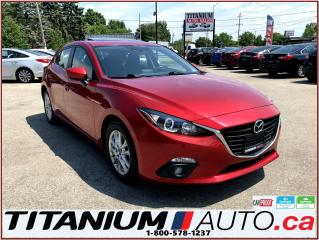 Used 2014 Mazda MAZDA3 Hatchback+GS Sport+GPS+Camera+Sunroof+Heated Seats for sale in London, ON