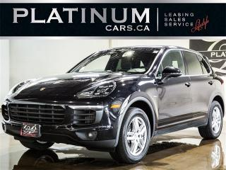 Used 2015 Porsche Cayenne DIESEL, NAVI, SUNROOF, CAM, Heated Seats for sale in Toronto, ON