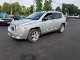 Used 2010 Jeep Compass 4x4 5 speed standard safetied Sport for sale in Madoc, ON