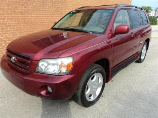 Used 2007 Toyota Highlander 7-Passenger/NO ACCIDENTS/SAFETY AND WARRANTY for sale in Oakville, ON