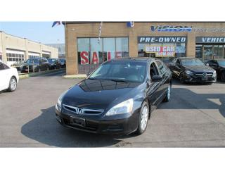 Used 2007 Honda Accord EX V6 w/Navi/LEATHER/SUNROOF for sale in North York, ON