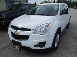Used 2012 Chevrolet Equinox FUEL EFFICIENT LS MODEL 5 PASSENGER 2.4L - ECO-TEC.. ECO-BOOST.. FLEX FUEL.. CD/AUX INPUT.. KEYLESS ENTRY.. for sale in Bradford, ON