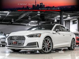 Used 2018 Audi S5 SPORTBACK|TECHNIK|RED INT|FULLY LOADED for sale in North York, ON