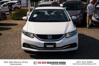 Used 2014 Honda Civic Sedan LX CVT for sale in Vancouver, BC