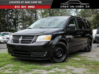 Used 2010 Dodge Grand Caravan SE for sale in Stittsville, ON