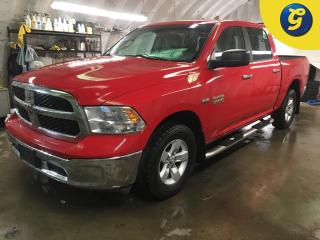 Used 2014 Dodge Ram 1500 SLT*CREWCAB*4WD*HEMI*NAVIGATION*BLUE TOOTH PHONE CONECT*STEP BARS*CLIMATE CONTROL*AM/FM/SAT/USB/AUX*TOW/HAUL MODE*4 PIN TRAILER CONNECTOR*CHROME FRONT for sale in Cambridge, ON