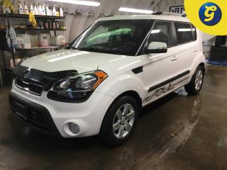 Used 2012 Kia Soul 2u*PHONE CONNECT*VOICE COMMAND*ROOF RACK*STEERING WHEEL CONTROLS*ALLOYS*DIMMING DASHBOARD*AUTO HEADLIGHTS*FOG LIGHTS POWER WINDOWS/LOCKS *KEYLESS ENTR for sale in Cambridge, ON