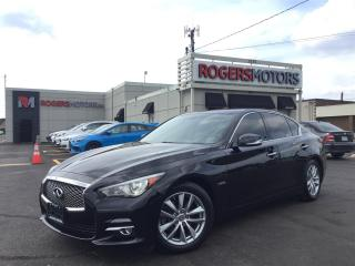 Used 2014 Infiniti Q50 HYBRID - NAVI - REVERSE CAM for sale in Oakville, ON