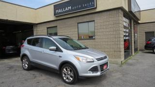 Used 2015 Ford Escape SE LOW KMS, Grey Leather interior, Panoramic roof, back-up camera for sale in Kingston, ON