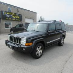 Used 2010 Jeep Commander Sport 4X4, LEATHER, NAVIGATION, 7 PASSENGER, 3rd Row SEATING, BACKUP CAMERA, LIMITED, SUNROOF for sale in Newmarket, ON