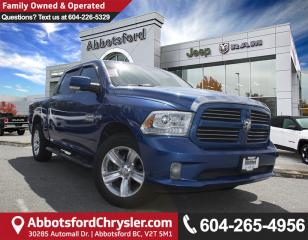 Used 2014 RAM 1500 Sport *ACCIDENT FREE* for sale in Abbotsford, BC