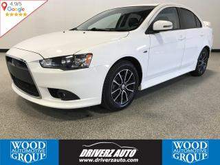 Used 2015 Mitsubishi Lancer GT W/LEATHER, 5 SPEED, SUNROOF for sale in Calgary, AB
