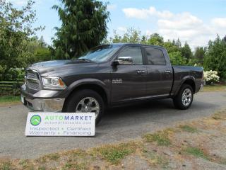 Used 2016 RAM 1500 LARAMIE, CRE, NAV, ROOF, LOAD, WARR, FINANCE for sale in Surrey, BC