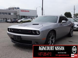 Used 2015 Dodge Challenger SXT Plus or R/T R/T |375 HP| 6 SPEED MANUAL|NAVI|BLIND SPOT|FULLY LOADED| for sale in Scarborough, ON