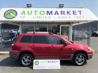 Used 2005 Mitsubishi Outlander LS 2WD YOU WORK/YOU DRIVE! for sale in Langley, BC