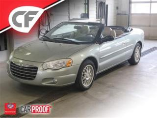 Used 2006 Chrysler Sebring Convertible for sale in Lévis, QC