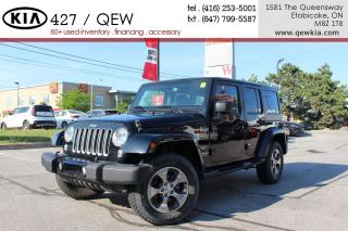 Used 2017 Jeep Wrangler Unlimited Sahara Navigation Cruise for sale in Etobicoke, ON