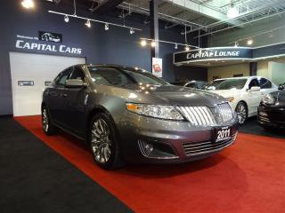 Used 2011 Lincoln MKS PANORAMIC SUNROOF / BLUETOOTH / A/C COOLED SEATS for sale in North York, ON