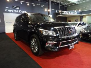 Used 2016 Infiniti QX80 LIMITED / 7 PASSENGER / NAVIGATION for sale in North York, ON