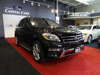 Used 2015 Mercedes-Benz ML-Class ML350 BlueTEC 4MATIC / DESIGNO PKG / NAVIGATION for sale in North York, ON