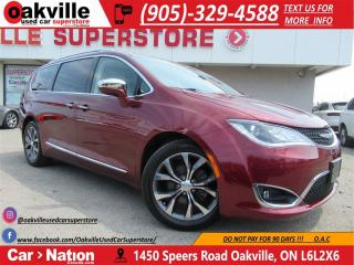 Used 2017 Chrysler Pacifica Limited | LEATHER | NAVI | SUNROOF | B/U CAM for sale in Oakville, ON