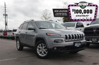 Used 2014 Jeep Cherokee North - 4x4, Bluetooth, 8.4in touch screen, back u for sale in London, ON