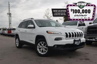 Used 2015 Jeep Cherokee North - low kms, trailer hitch, back up cam, GPs for sale in London, ON