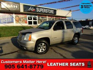 Used 2009 GMC Yukon SLT  4X4 LEATH ROOF 8-PASS BOSE DUAL-P/SEATS PARK-SENS BT TO for sale in St. Catharines, ON