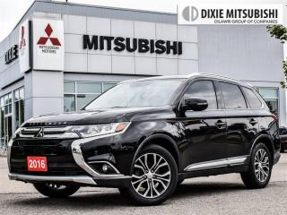 Used 2016 Mitsubishi Outlander NAVI| STARTER|7 SEATS| LEATHER|LANE ASSIST| for sale in Mississauga, ON