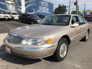 Used 1998 Lincoln Continental for sale in Scarborough, ON