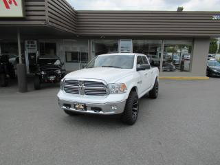 Used 2018 RAM 1500 CREW CAB - 5.7L HEMI 4X4 - LEATHER SEATS for sale in Langley, BC