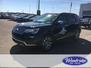 New 2018 Ford Explorer Platinum for sale in Calgary, AB