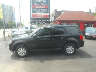 Used 2011 Mazda Tribute GX/ A/C / ALLOYS / 4 CYL / FUEL SAVER / NEW BRAKES for sale in Scarborough, ON