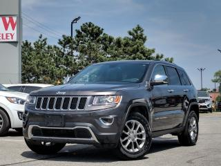 Used 2016 Jeep Grand Cherokee Limited 4x4 | Leather | Power Liftgate for sale in Etobicoke, ON